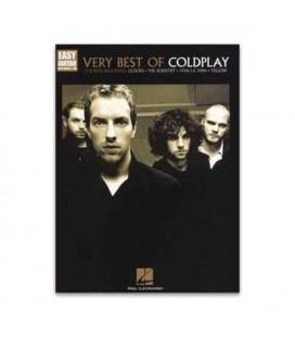 Libro Music Sales HL00702291 Coldplay Very Best Easy Guitar
