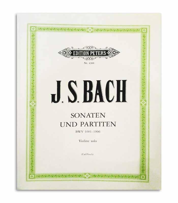 Livro Peters Bach Sonatas e Partitas para Violino BWV 1001 1006 EP4308
