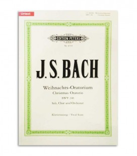 Book Peters Bach Christmas Oratorio EP8719