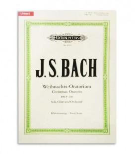 Libro Peters Bach Oratória de Navidad EP8719