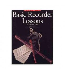 Livro Music Sales AM934406 Basic Recorder Lessons