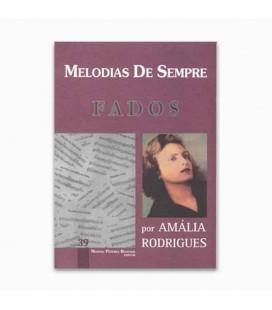 Livro Melodias De Sempre 39 Fados por Manuel Resende