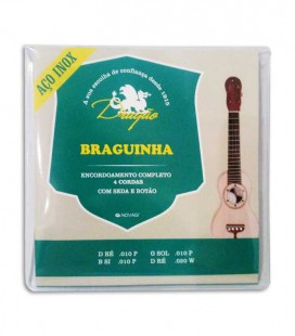 Juego de Cuerdas Dragão 090 para Braguinha Inox