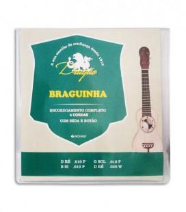 Jogo de Cordas Dragão BRAG017 para Braguinha