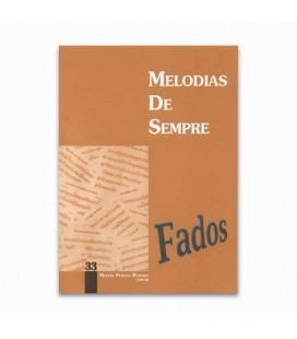 Libro Melodias De Sempre N 33 Fados por Manuel Resende