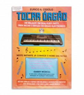 Book Eurico Cebolo Tocar Órgão with CD T ORG