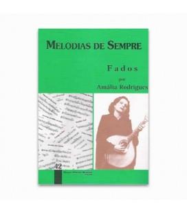 Libro Melodias de Sempre 42 Fados de Amália por Manuel Resende