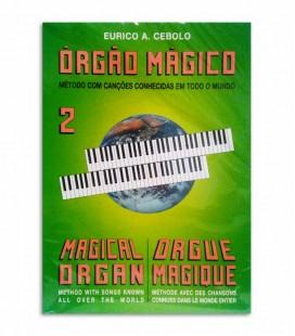 Libro Eurico Cebolo OM 2 Método Órgão Mágico 2