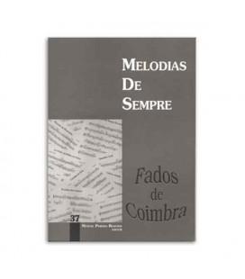 Libro Melodias de Sempre 37 Fados de Coimbra por Manuel Resende