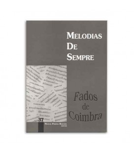 Livro Melodias de Sempre 37 Fados de Coimbra por Manuel Resende