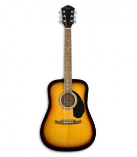 Folk Guitar Fender FA 125 Sunburst