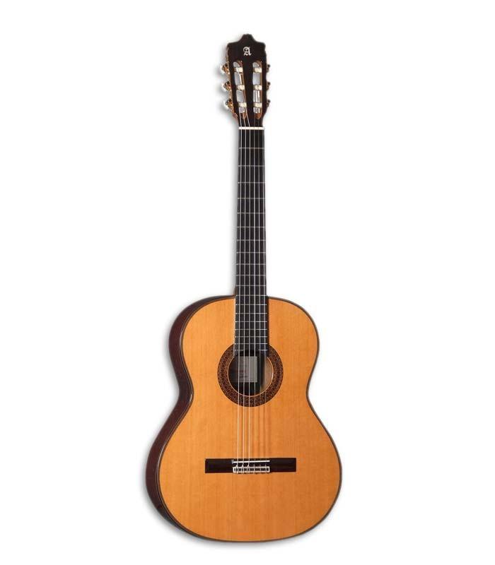 A Alhambra 7C Classic 辿 uma guitarra cl叩ssica fabricada 100% � m達o, a um grande pre巽o