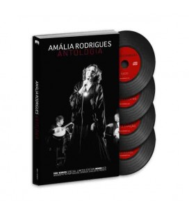 Book Sevenmuses Amália Rodrigues - Antologia with CD