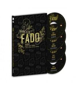 Sevenmuses Book Fado Sempre Ontem Hoje e Amanhã with 4 CDs