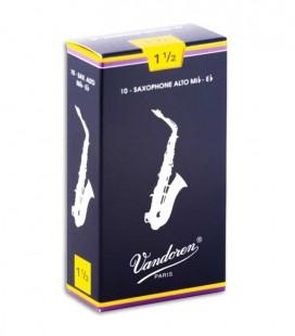 Palheta Vandoren SR2115 Saxofone Alto 1 1/2