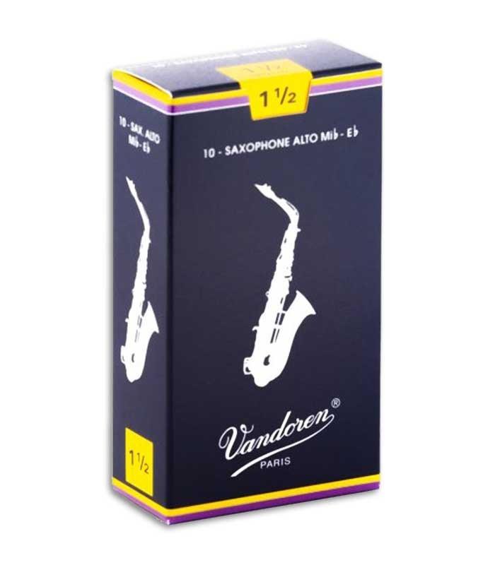 Caña Vandoren SR2115 Saxófono Alto 1 1/2