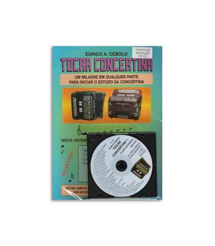 Libro Eurico Cebolo Método Mágico Tocar Concertina 1 con CD