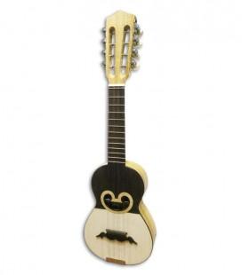 Artimúsica Cavaquinho 11141 Round Sound Hole Half tops 8 Strings Machine Heads
