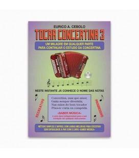Libro Eurico Cebolo ACM 1 Método Mágico Tocar Concertina 3 con CD KIT