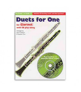 Livro Music Sales CH61556 Duets For One Clarinet