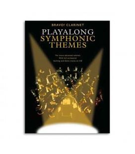 Libro Music Sales AM990616 Bravo Symphonic Themes Clarinet Book CD