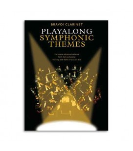 Bravo Symphonic Themes Clarinet Book CD