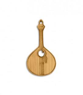 Porta-chaves Portwood PC006 Guitarra Portuguesa
