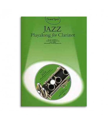 Livro Music Sales AM941700 Guest Spot Jazz for Clarinet Book CD