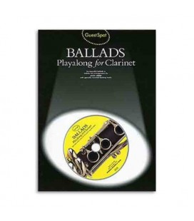 Livro AM941787 Guest Spot Ballads for Clarinet Book CD