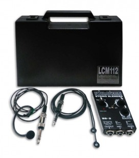 Microfone SDSsystems LCM112 para Violino Pickup PU2+Preamp BS2