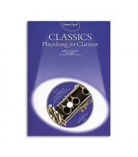 Livro Music Sales AM955537 Guest Spot Classics for Clarinet Book CD