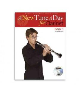 Foto da capa do livro A New Tune a Day Clarinet book 1