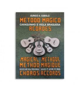 Livro Eurico Cebolo CAV Método Cavaquinho e Viola Braguesa Acordes