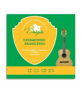 Jogo de Cuerdas Dragão 058 para Cavaquinho Brasileño de 4 Cuerdas