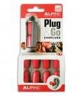 Foto de la embalage con el protector Alpine para oídos Party Plug