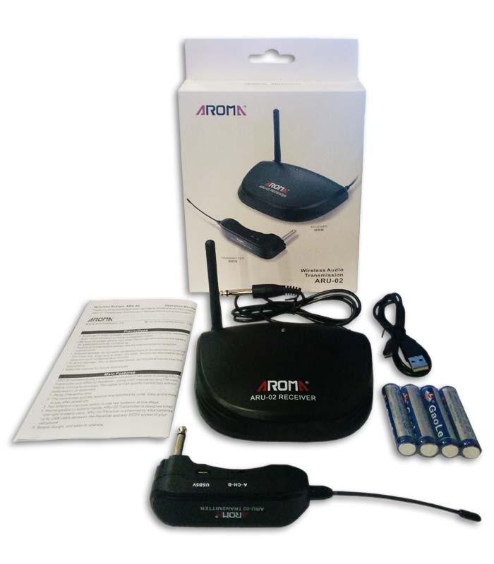 Photo of wireless system Aroma ARU02