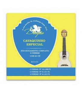 Juego Cuerdas Dragão 063 para Cavaquinho Especial 8 Cuerdas