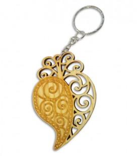 Key Chain Portwood PC001 Coração de Viana