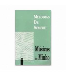 Libro Melodias De Sempre No 34 Músicas do Minho por Manuel Resende