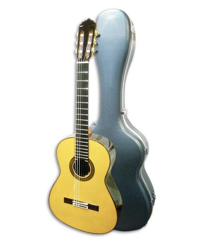 Guitarra Clásica Luthier Teodoro Perez Spruce e Madagascar Rosewood con Estuche