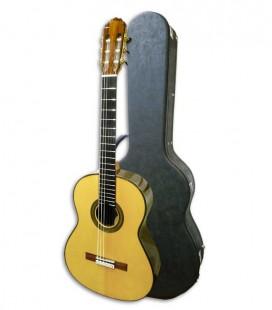 Guitarra Clásica Luthier Teodoro Perez Concerto Spruce e Madagascar Rosewood con Estuche