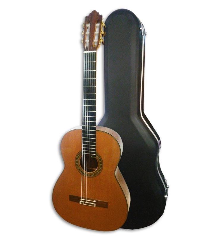 Guitarra Clásica Vicente Carrillo Concierto Primera Especial Cedro y Palo Santo con Estuche