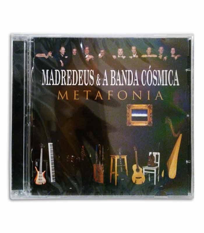 CD Sevenmuses Madredeus e a Banda Cósmica Metafonia 2CD