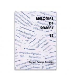 Livro Melodias de Sempre 12 por Manuel Resende