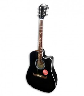 Guitarra Eletroacústica Fender FA 125CE Dreadnought Black