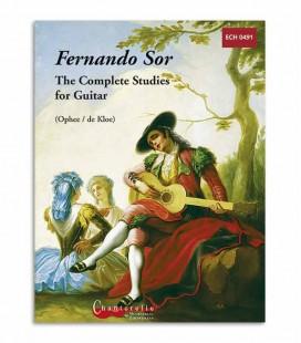 Livro Fernando Sor Estudos Completos para Guitarra ECH0491