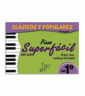 Livro Clássicos e Populares para Piano Fácil Vol 1 EMC341234