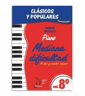Clássicos e Populares para Piano Dificuldade Média Vol 8