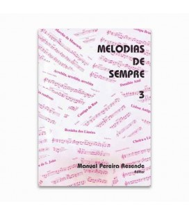 Libro Melodias de Sempre 3 por Manuel Resende