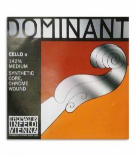 Cuerda Thomastik Dominant 130 para Cello 3/4 1ª Lá